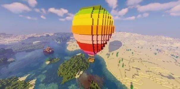 我的世界热气球怎么做